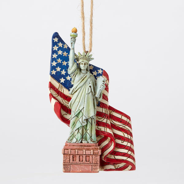 Jim Shore Statue Of Liberty Ornament 4053847