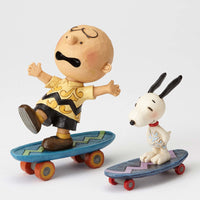 Jim Shore Peanuts Skateboarding Buddies 4054080