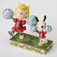 Jim Shore Cheerleading Snoopy And Sally 4054083