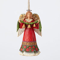 Jim Shore Angel Holding Bells Hanging Ornament 4055123