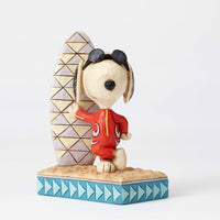 Jim Shore Joe Cool Snoopy with Surfboard 4055655