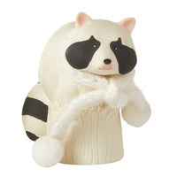 Snowbabies 2017 Collectible Animal Raccoon Sitting 4056245A