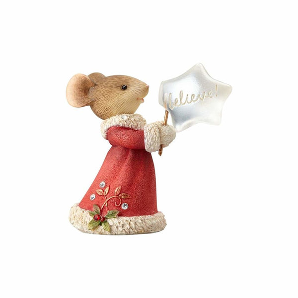 Heart of Christmas Believe Mouse! Ornament 4057666