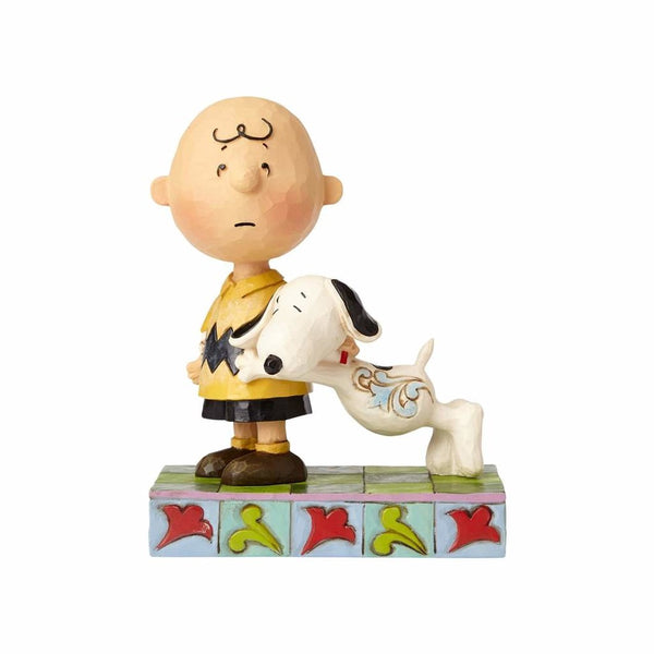 Jim Shore Snoopy with Charlie Brown 4057676