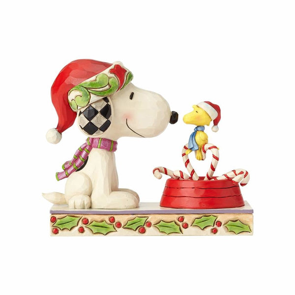 Jim Shore Snoopy & Woodstock Candy Cane 4057678