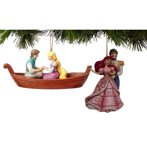Disney Traditions Princess Ornament Set Ariel/Rapunzel 4057964