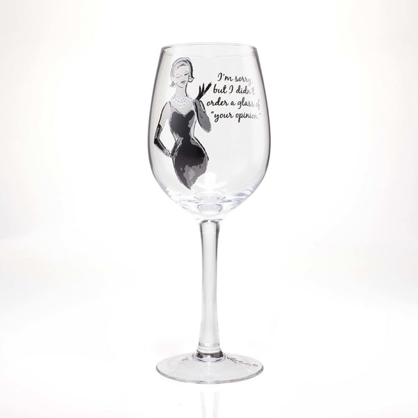 SASS Wine Glass Your Opinion 4058097