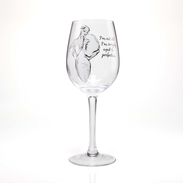 SASS Wine Glass I'm Not Old 4058098