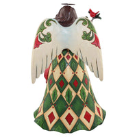 Jim Shore Christmas Angel with Cardinals 4058799
