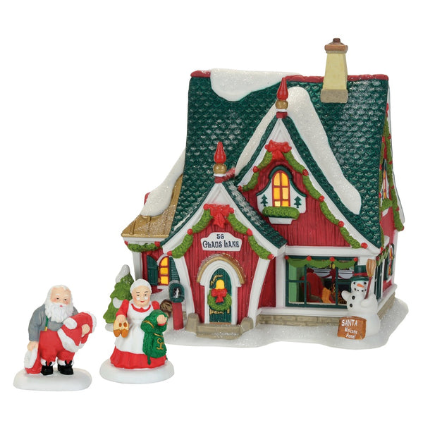 D56 Home For The Holidays North Pole Set of 3 4059382