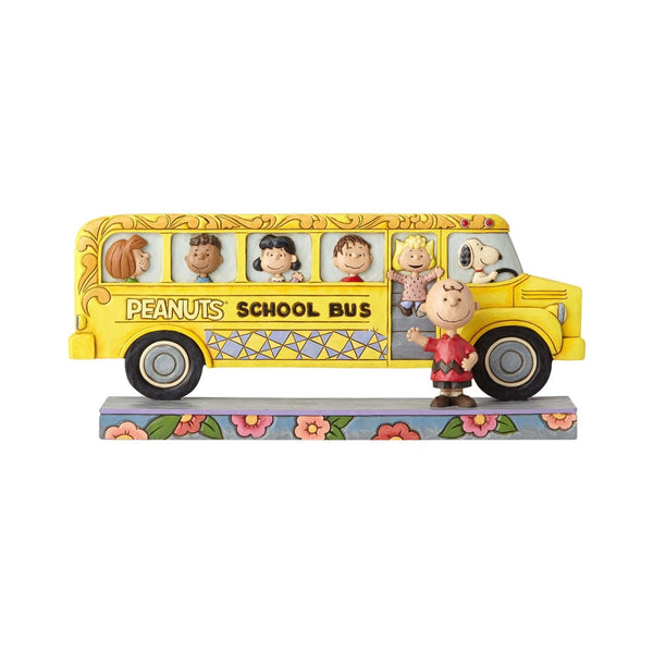 Jim Shore Peanuts School Bus 4059439