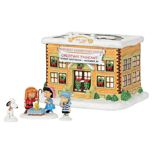 D56 Peanuts School Pageant Set 4059456