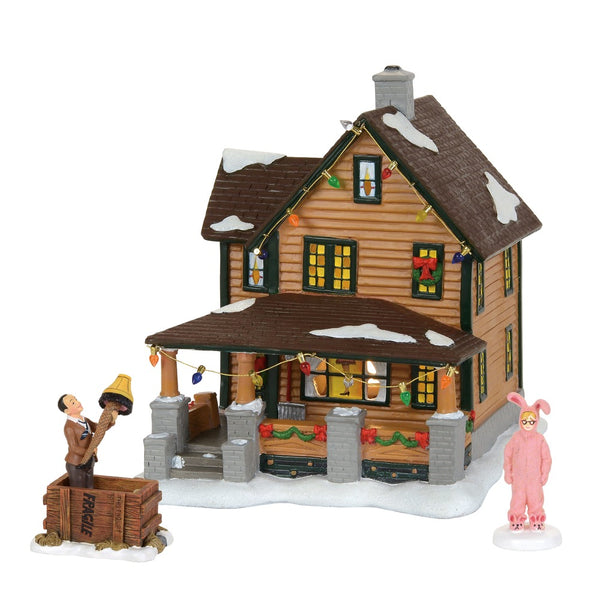 D56 Ralphie's House Holiday Set 4059503