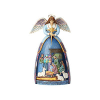 Jim Shore Angel With Nativity 4059760