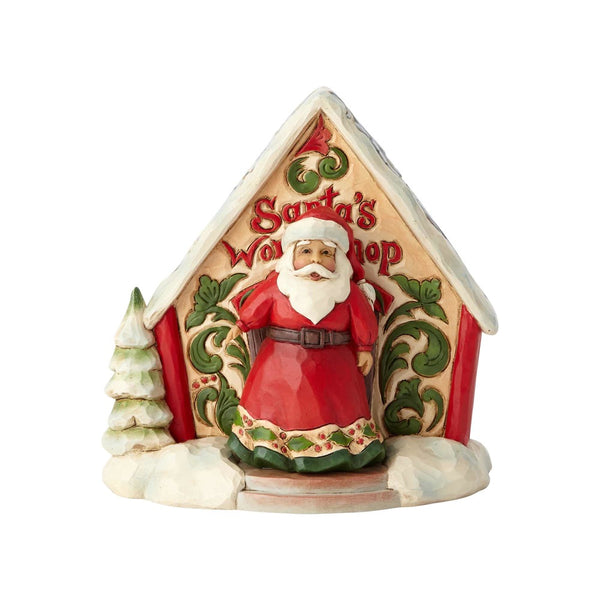 Jim Shore Santa and Toy Shop Mini Set 4060314