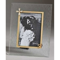 50Th Anniversary Glass Frame 41971