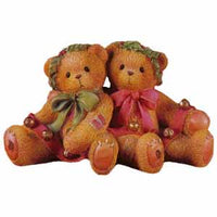 Cherished Teddies Bonnie-Harold-Ring In The Holidays W-Me 466301