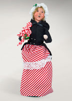 Byers Choice Candy Cane Woman 4831
