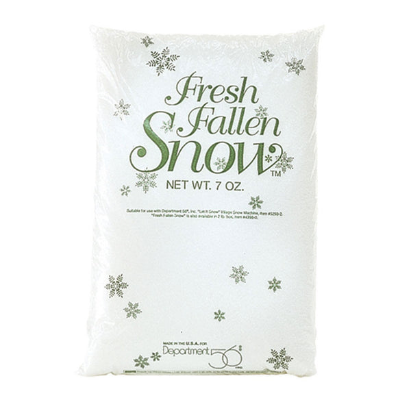 D56 7 Oz. Bag Of New Fallen Snow 49979