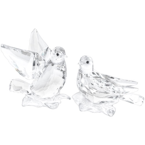 Swarovski Turtledoves - Set Of 2 - SIGNED 5004726S