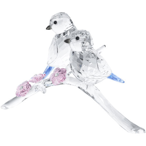 Swarovski Blue Chickadees Couple 5004727