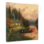 Kinkade The End Of The Perfect Day Gallery Wrap 14x14 50273