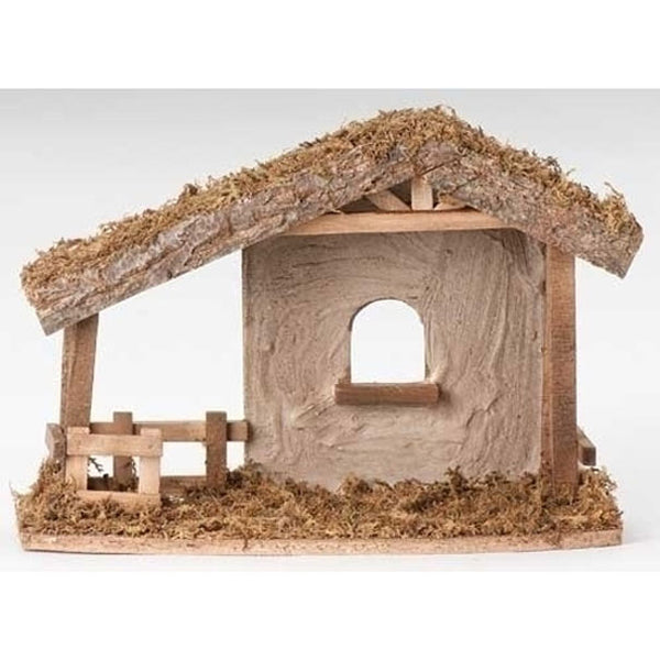 Fontanini Nativity Wooden Nativity Stable 50556