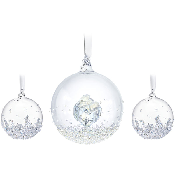 Swarovski 2016 Annual Dated Ball Ornament Set 5223282