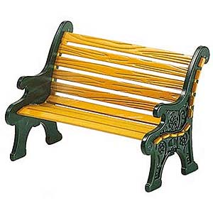 D56 Wrought Iron Park Bench 52302
