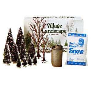 D56 Village Landscape - Set Of 14 Trees 52590