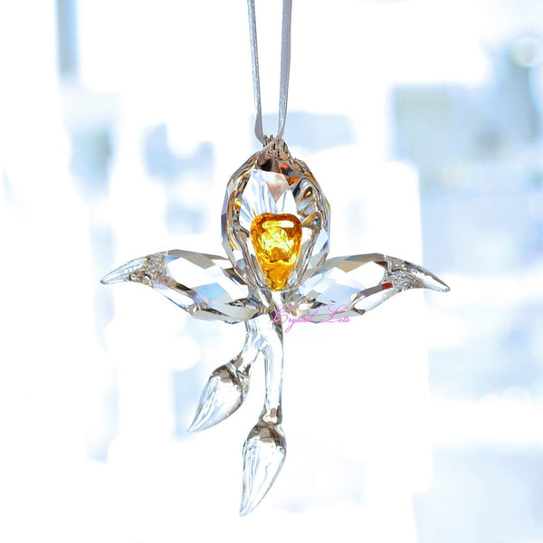 Swarovski 2018 SCS African Orchid Ornament 5301554