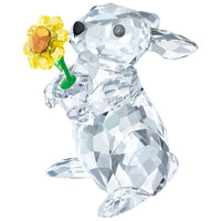 Swarovski Rabbit with Sunflower - SIGNED 5453418