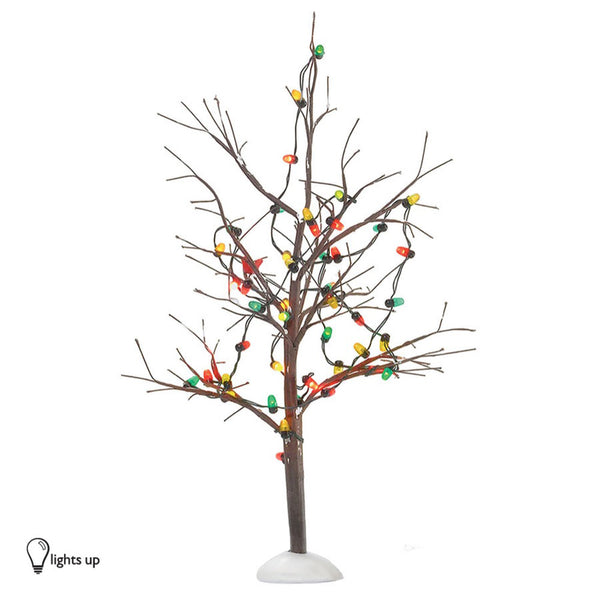 D56 Lighted Christmas Bare Branch Tree 53193