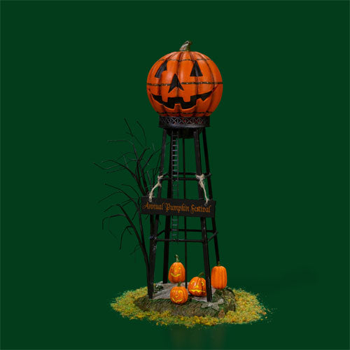 D56 Halloween Water Tower 53223
