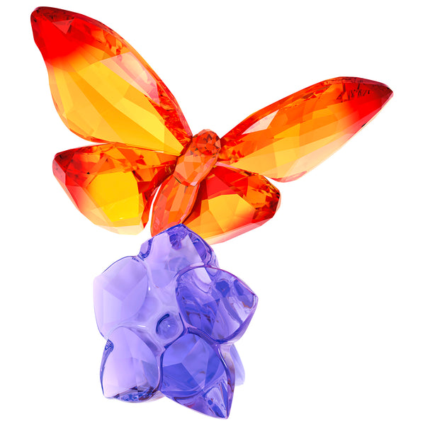 Swarovski Butterfly on Flower - SIGNED 5374943S