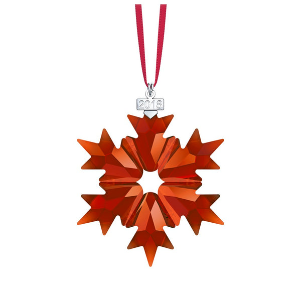 Swarovski 2018 Exclusive Red Snowflake  Ornament 5460487