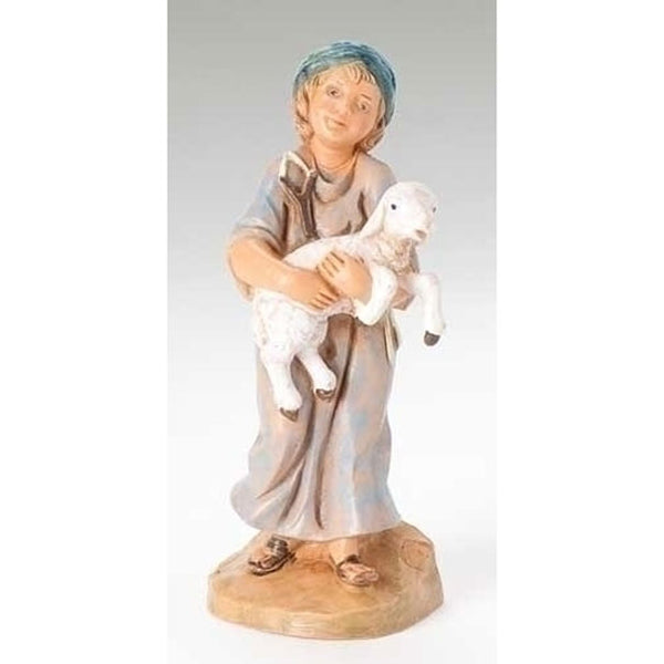 Fontanini Silas - Boy Holding Sheep 57521