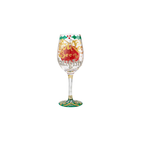 Lolita Wine Glass Naughty X-mas 6000221