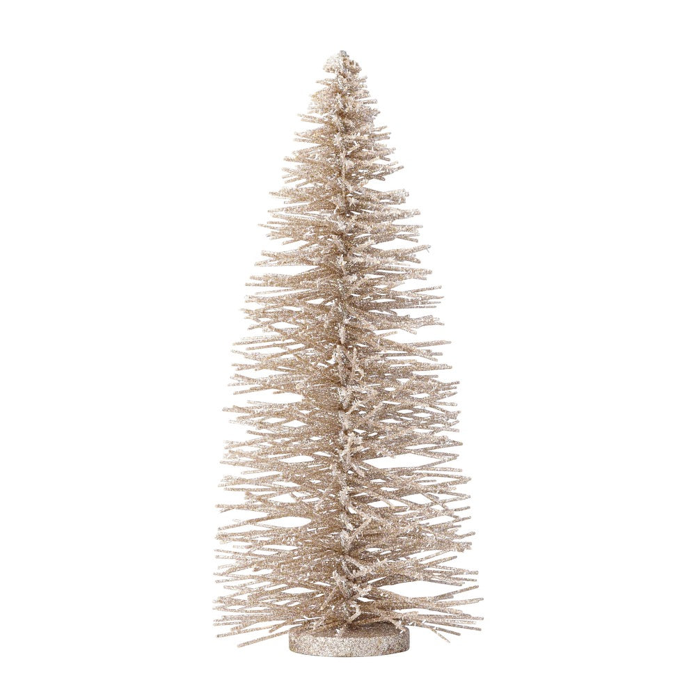 Department 56 Christmas Tree.Department 56 Silver Glitter Tree 6000264