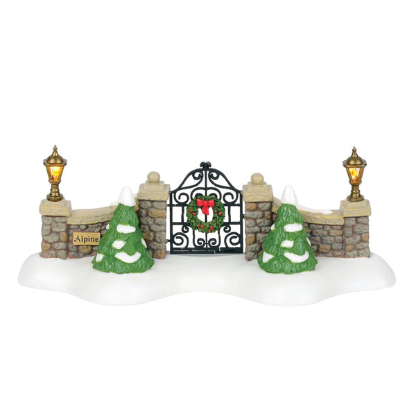 D56 Alpine Village Gate 6000568