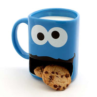 Our Name Is Mud Sesame Street Cookie Monster Cookie Dunk Mug 6001062