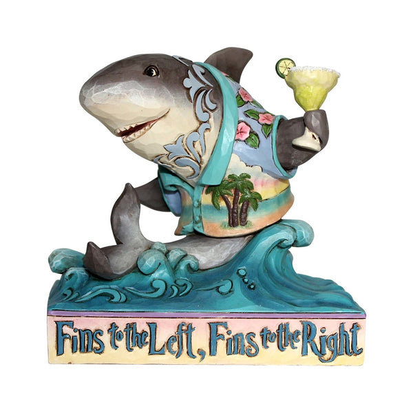 Jim Shore Pint Sized Shark on Wave 6001073