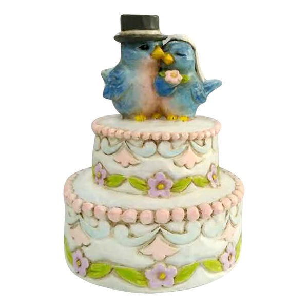 Jim Shore Mini Wedding Cake 6001090