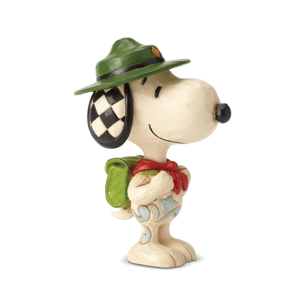 Jim Shore Snoopy Boy Scout Mini 6001296