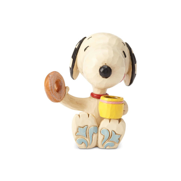 Jim Shore Snoopy Donut & Coffee mini 6001297