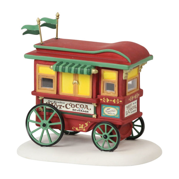 D56 Heritage Village Friends Cocoa Cart Club 6001320