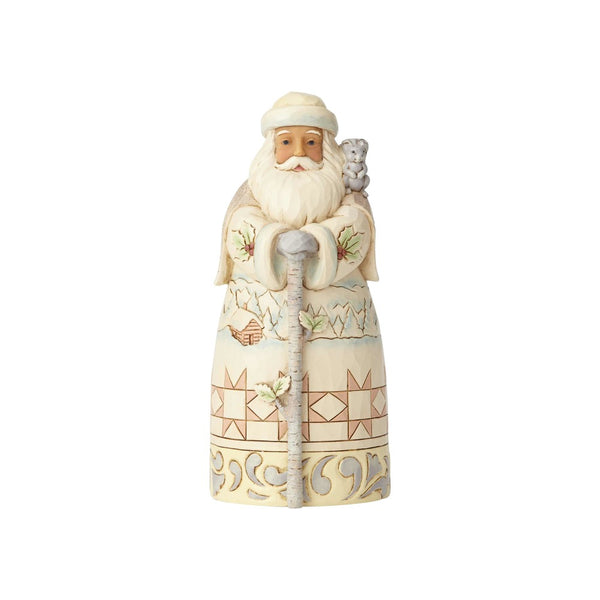 Jim Shore Woodland Santa with Cane 6001415