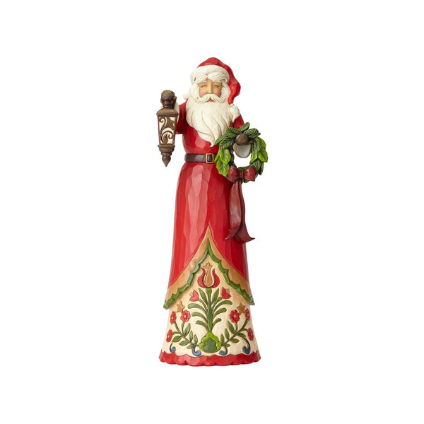 Jim Shore Tall Tidings - Tall Santa with Lantern 6001472