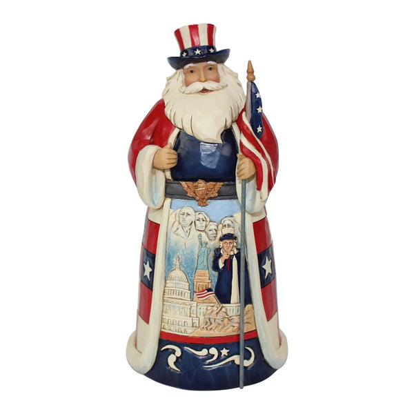 Jim Shore America Santa Around the World 6001474