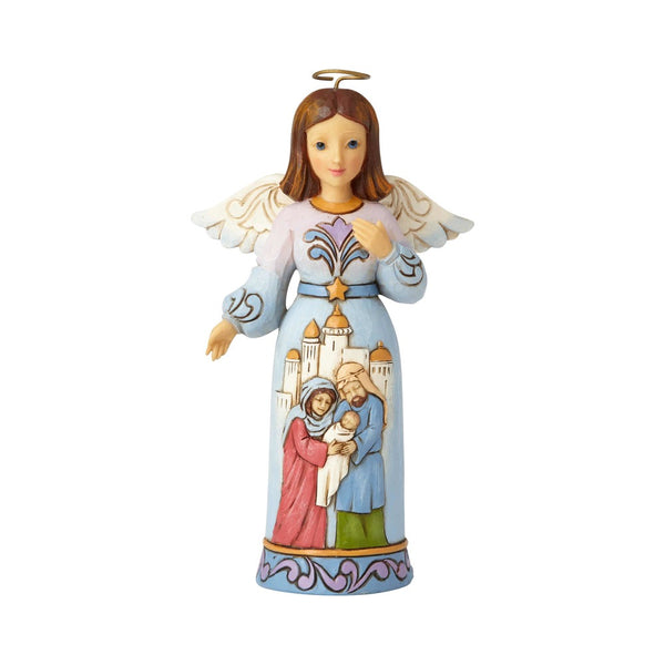 Jim Shore May All the Earth Rejoice - Pint Size Nativity Angel 6001493